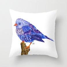 Flowerly Serene Sophia. Purple Edition Throw Pillow