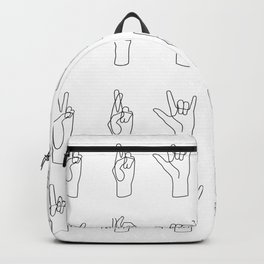 All I Have To Say Backpack