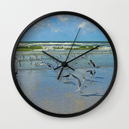 Time for Me to Fly Wall Clock