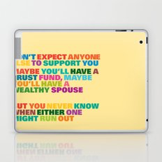Trust Fund Laptop & iPad Skin