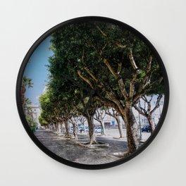 Trapani art 10 Wall Clock