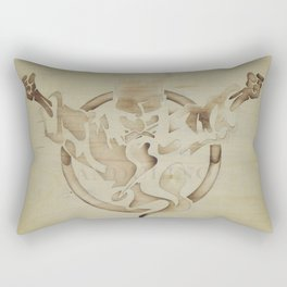 Thunderdome Rectangular Pillow