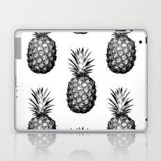 Black & White Pineapple Laptop & iPad Skin