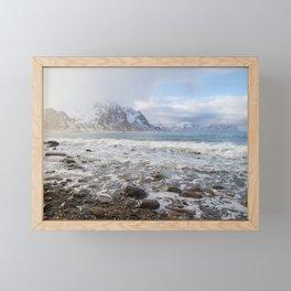 Lofoten Beach Framed Mini Art Print