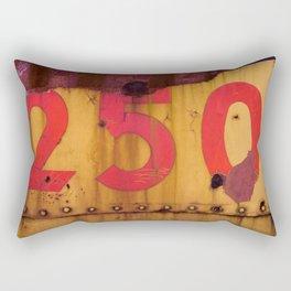 Red and Yellow 250 Rectangular Pillow