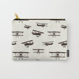 Retro airplanes Carry-All Pouch