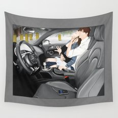 you can...in an R8 Wall Tapestry
