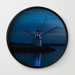 Be a becon of light Wall Clock