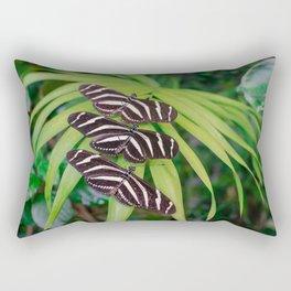 Zebra longwing butterflies Rectangular Pillow