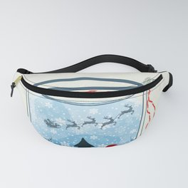 Christmas Fanny Pack