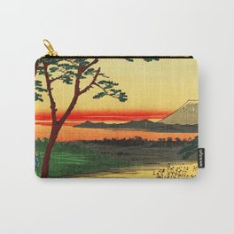 Japanese Tea House on River Carry-All Pouch