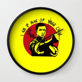 Ip Man  Wall Clock