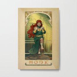 La Moine - The Monk Metal Print