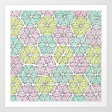 rhinestones 5 Art Print