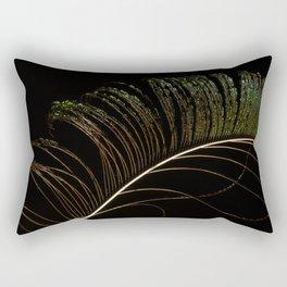 Peacock feather. Rectangular Pillow