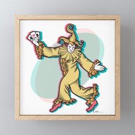 Joker is Wild Framed Mini Art Print
