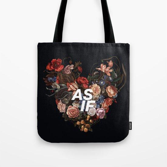 AS IF Tote Bag