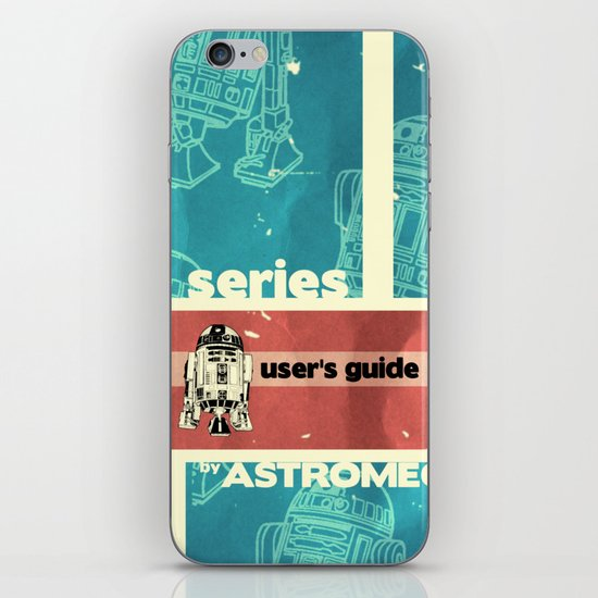 Astromech User's Guide R2-d2 iPhone & iPod Skin