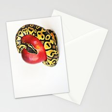 Python tempting Eve Stationery Cards
