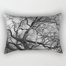Old oak tree. Moscow district. Rectangular Pillow