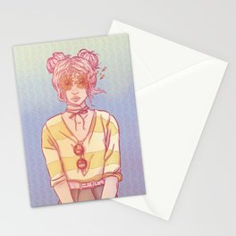 Mizaru Sister Stationery Cards