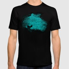 Patronus in a Dream Black X-LARGE Mens Fitted Tee