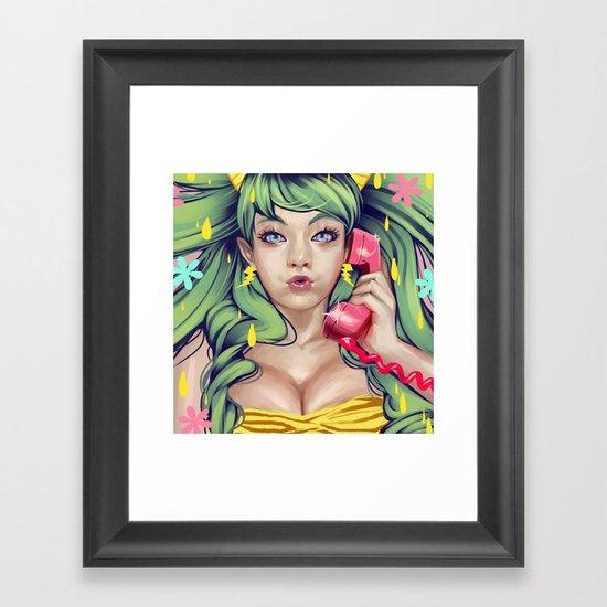 LUM NO LOVE SONG Framed Art Print