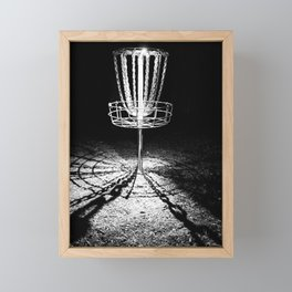 Disc Golf Chains Framed Mini Art Print