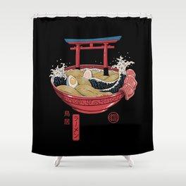 Sacred Ramen Shower Curtain