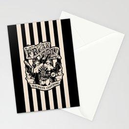 FreakShow (Black background) Stationery Cards