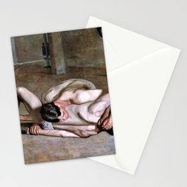 Thomas Cowperthwait Eakins - Wrestlers - Digital Remastered Edition Stationery Cards
