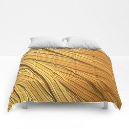 Sun-kissed Straw Comforters