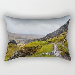 The Quirang, Isle of Skye, Scotland Rectangular Pillow