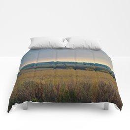 Grazing the Hillside Comforters