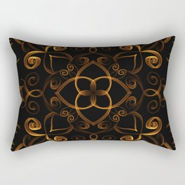 Fiery autumn Rectangular Pillow