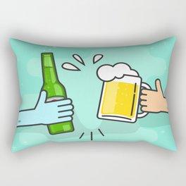 Beer understands! Rectangular Pillow