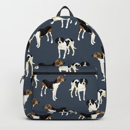 Mille and Hank Pattern Backpack