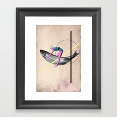 Far From Any Road (Be My Hand) Framed Art Print