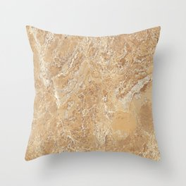 Mud Marble Texture Throw Pillow