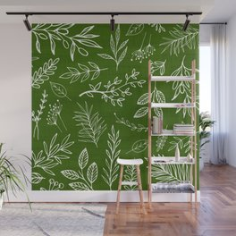 Emerald Forest Wall Mural