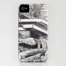 Frank Llyod Wright iPhone (4, 4s) Slim Case