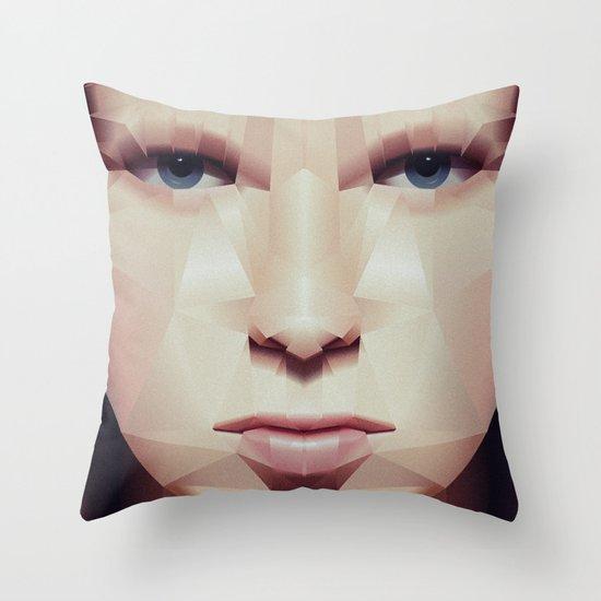 Facet_EF2 Throw Pillow