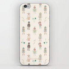 vintage toys iPhone & iPod Skin