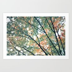Paint Me Autumn Art Print