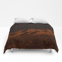 Desert Alpenglow - II Comforters