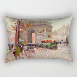 Triumphal arch Rectangular Pillow