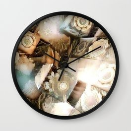 Resurrect Pattern 2 Wall Clock