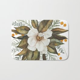Magnolia Bouquet Bath Mat