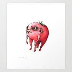 tomato baby Art Print