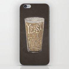 Yeast is a Fungi - Beer Pint iPhone & iPod Skin